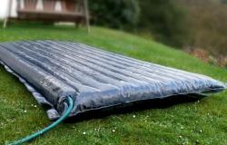 Paneles solares hinchables