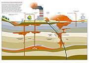 """Greenpeace califica de """"estafa"""" la captura y almacenamiento de carbono"""